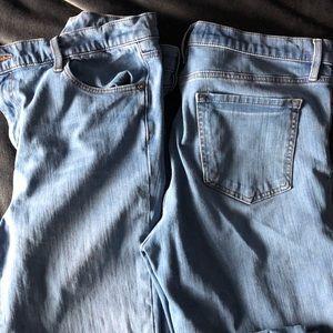 LOFT Jeans - 1 pair LOFT Ann Taylor performance denim legging